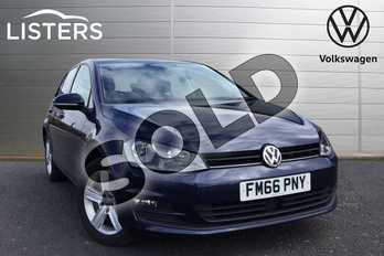 Volkswagen Golf 1.4 TSI 125 Match Edition 5dr in Night Blue at Listers Volkswagen Loughborough