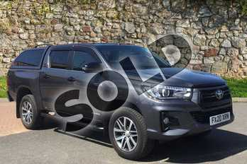 Toyota Hilux Invincible X D/Cab Pick Up 2.4 D-4D in Decuma Grey at Listers Toyota Boston