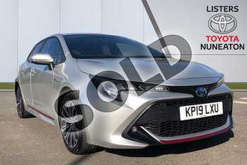 Toyota Corolla 1.8 VVT-i Hybrid Design 5dr CVT in Silver at Listers Toyota Nuneaton