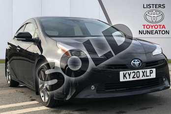 Toyota Prius 1.8 VVTi Business Edition Plus 5dr CVT in Black at Listers Toyota Nuneaton