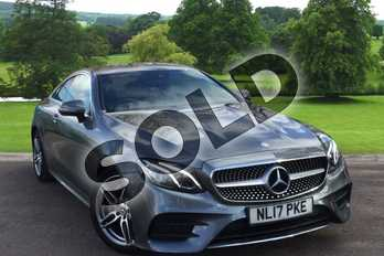 Mercedes-Benz E Class E220d AMG Line 2dr 9G-Tronic in Selenite Grey Metallic at Mercedes-Benz of Grimsby