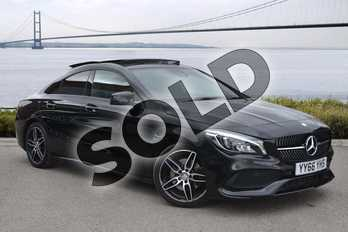 Mercedes-Benz CLA Class CLA 220d AMG Line 4dr Tip Auto in cosmos black metallic at Mercedes-Benz of Hull