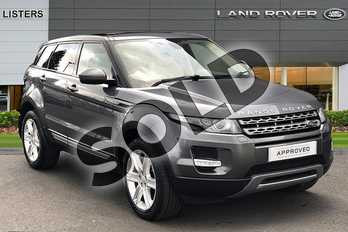 Range Rover Evoque 2.2 SD4 Pure 5dr Auto (9) (Tech Pack) in Corris Grey at Listers Land Rover Hereford