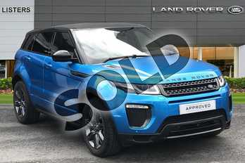 Range Rover Evoque 2.0 TD4 Landmark 5dr in Moraine Blue at Listers Land Rover Hereford