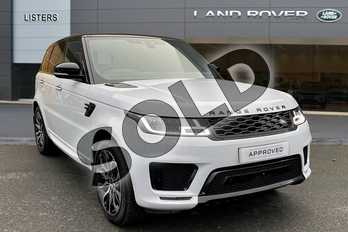 Range Rover Sport 2.0 P400e Autobiography Dynamic 5dr Auto in Yulong White at Listers Land Rover Hereford
