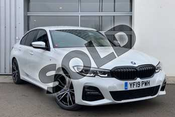 BMW 3 Series 320d xDrive M Sport 4dr Step Auto in Mineral White at Listers King's Lynn (BMW)