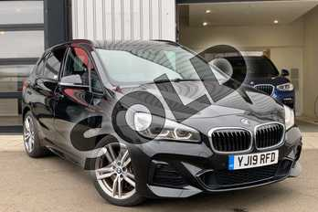 BMW 2 Series 225xe M Sport Premium 5dr Auto in Black Sapphire metallic paint at Listers King's Lynn (BMW)