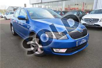 Skoda Octavia 1.4 TSI SE 5dr DSG in Metallic - Denim blue at Listers Toyota Grantham