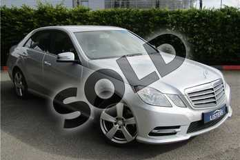 Mercedes-Benz E Class E220 CDI BlueEFFICIENCY SE 4dr Tip Auto (7) in Metallic - Palladium silver at Listers U Boston