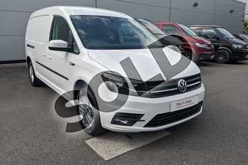 Volkswagen Caddy 2.0 TDI BlueMotion Tech 102PS Highline Nav Van DSG in Candy White at Listers Volkswagen Van Centre Worcestershire