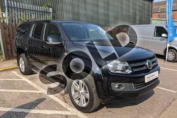 Volkswagen Amarok D/Cab Pick Up Highline 2.0 BiTDI 180 BMT 4MTN Auto in Black at Listers Volkswagen Van Centre Worcestershire