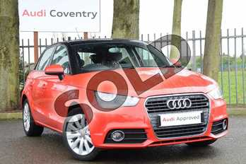 Audi A1 1.4 TFSI 140 Sport 5dr in Misano Red, pearl effect at Coventry Audi