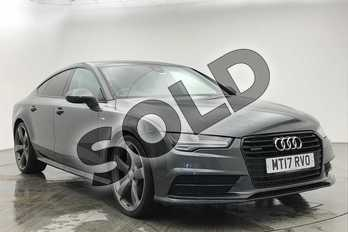 Audi A7 3.0 TDI Quattro 272 Black Edition 5dr S Tronic in Daytona Grey Pearlescent at Coventry Audi