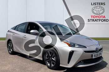 Toyota Prius 1.8 VVTi Excel 5dr CVT in Silver at Listers Toyota Stratford-upon-Avon