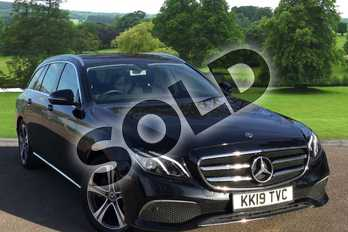 Mercedes-Benz E Class E220d SE 5dr 9G-Tronic in obsidian black metallic at Mercedes-Benz of Grimsby
