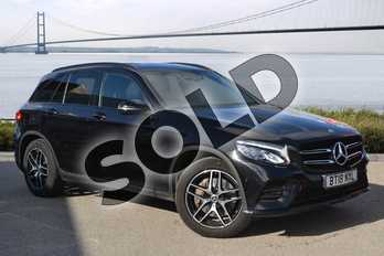 Mercedes-Benz GLC GLC 250d 4Matic AMG Line 5dr 9G-Tronic in obsidian black metallic at Mercedes-Benz of Hull