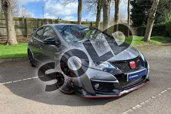 Honda Civic 2.0 i-VTEC Type R GT 5dr in Polished Metal at Listers Honda Coventry