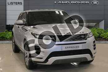 Range Rover Evoque 2.0 D180 R-Dynamic SE 5dr Auto in Indus Silver at Listers Land Rover Droitwich