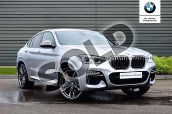 BMW X4 xDrive M40i 5dr Step Auto in Glacier Silver at Listers Boston (BMW)