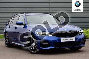 BMW 3 Series 320d M Sport 5dr Step Auto in Portimao Blue at Listers Boston (BMW)