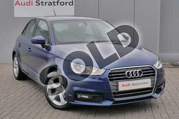 Audi A1 1.0 TFSI Sport 5dr in Scuba Blue Metallic at Stratford Audi