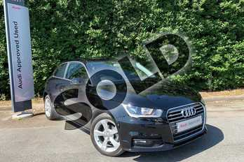 Audi A1 1.0 TFSI Sport 3dr in Brilliant Black at Worcester Audi