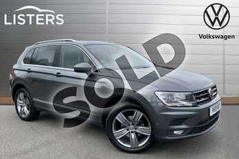 Volkswagen Tiguan 2.0 TDI 150 4Motion Match 5dr DSG in Indium Grey at Listers Volkswagen Stratford-upon-Avon