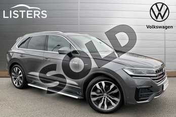 Volkswagen Touareg 3.0 V6 TDI 4Motion R Line Tech 5dr Tip Auto in Silicon Grey at Listers Volkswagen Stratford-upon-Avon