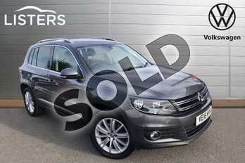 Volkswagen Tiguan 2.0 TDI BlueMotion Tech Match Edition 150 5dr in Nimbus Grey at Listers Volkswagen Worcester