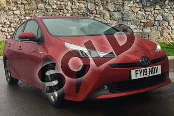 Toyota Prius 1.8 VVTi Excel 5dr CVT in Hypersonic Red at Listers Toyota Grantham