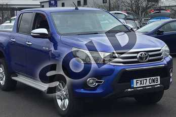 Toyota Hilux Icon D/Cab Pick Up 2.4 D-4D in Nebula Blue at Listers Toyota Lincoln