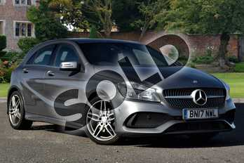 Mercedes-Benz A Class A180d AMG Line Executive 5dr in Mountain Grey at Mercedes-Benz of Lincoln