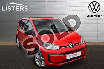 Volkswagen Up 1.0 Up Beats 5dr in Tornado Red at Listers Volkswagen Stratford-upon-Avon