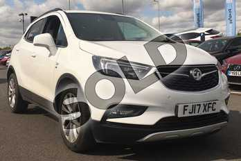Vauxhall Mokka X 1.4T Elite 5dr Auto in White at Listers Toyota Lincoln