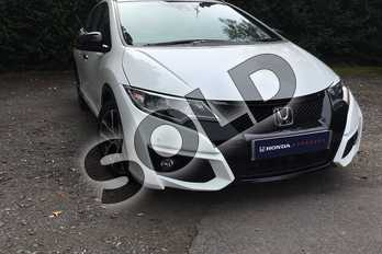 Honda Civic 1.6 i-DTEC Sport Nav 5dr in White Orchid at Listers Honda Coventry
