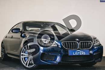 BMW M6 M6 4dr DCT in Individual paint - Tanzanite blue at Listers U Stratford-upon-Avon