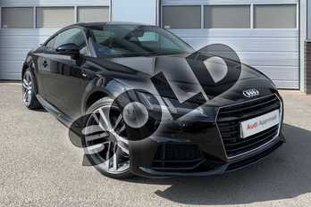 Audi TT 2.0T FSI S Line 2dr in Brilliant Black at Worcester Audi