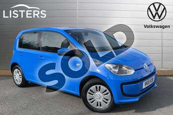 Volkswagen Up 1.0 Move Up 5dr in Mayan Blue at Listers Volkswagen Stratford-upon-Avon