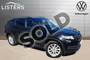 Skoda Kodiaq 1.4 TSI 150 SE 5dr DSG in Black Magic at Listers Volkswagen Worcester