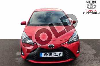 Toyota Yaris 1.5 VVT-i Icon Tech 5dr in Red Pop at Listers Toyota Cheltenham