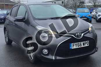 Toyota Yaris 1.33 VVT-i Icon 5dr in Decuma Grey at Listers Toyota Lincoln