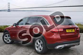 Mercedes-Benz GLC GLC 220d 4Matic Sport 5dr 9G-Tronic in designo hyacinth red metallic at Mercedes-Benz of Hull
