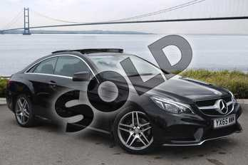 Mercedes-Benz E Class E220 BlueTEC AMG Line 2dr 7G-Tronic in Obsidian Black metallic at Mercedes-Benz of Hull