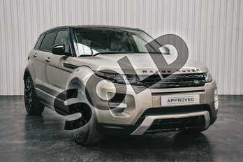 Range Rover Evoque 2.2 SD4 Dynamic 5dr Auto in Ipanema Sand at Listers Land Rover Solihull