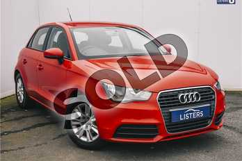 Audi A1 1.2 TFSI SE 5dr in Pearl - Misano Red at Listers U Solihull