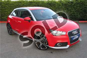 Audi A1 1.4 TFSI Contrast Edition Plus 3dr in Metallic - Shiraz red at Listers U Boston