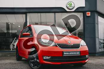 Skoda Citigo 1.0 MPI Colour Edition 5dr in Tornado Red at Listers ŠKODA Coventry