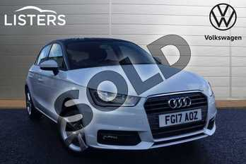 Audi A1 1.0 TFSI Sport 5dr in Polar White at Listers Volkswagen Loughborough
