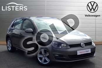 Volkswagen Golf 1.6 TDI 110 Match Edition 5dr in Limestone Grey at Listers Volkswagen Nuneaton