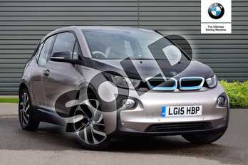 BMW I3 125kW Range Extender 5dr Auto (Loft Int World) in Andesit Silver metallic with BMW i Blue at Listers Boston (BMW)